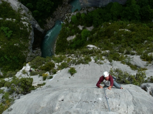 Verdon Gorge, climb, alpine climbing, Alpine Energy Guiding, mountaineering & ski adventures, Andrew Lanham Mountain Guide, Chamonix, Aosta Valley, Swiss, lyngen alps