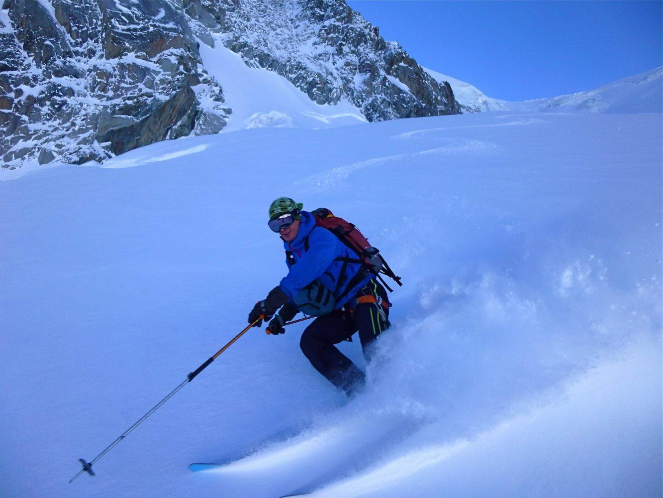Vallée Blanche, Aiguille du Midi, Mountaineering course, Chamonix ski guide, haute route, chamonix climbing, Chamonix freeride, Chamonix mountain guides, Swiss mountaineering