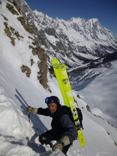 fitness level, Courmayeur, mountain adventures, mountaineering, ski touring, chamonix freeride, haute route