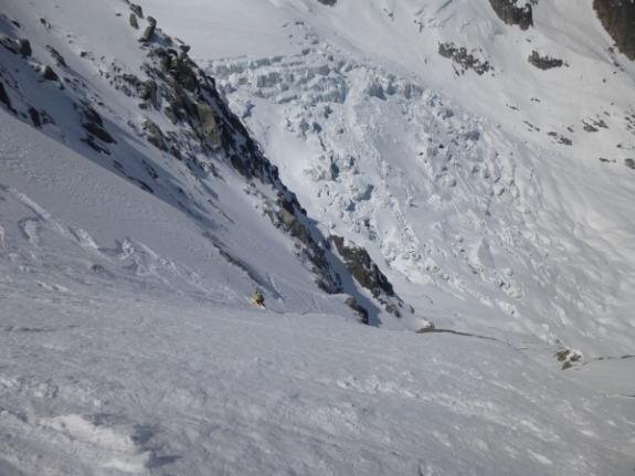 Chamonix off piste, Ski touring, freeride, off-piste, backcountry, Alpine Energy Guiding, mountaineering & ski adventures, Andrew Lanham Mountain Guide, Chamonix, Aosta Valley, Swiss, lyngen alps