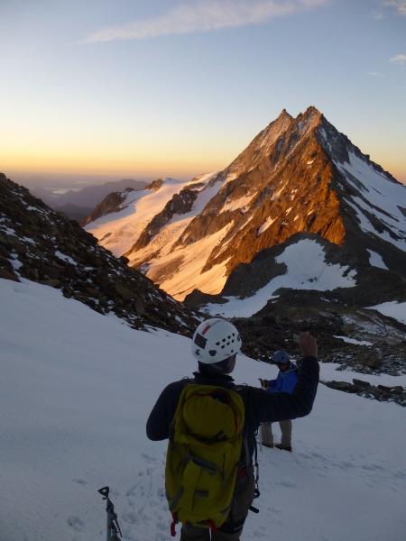 Weissmies, Mountaineering course, Chamonix ski guide, haute route, chamonix climbing, Chamonix freeride, Chamonix mountain guides, Swiss mountaineering