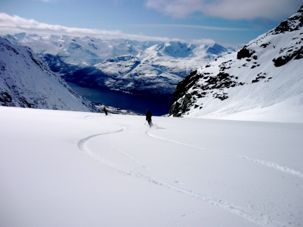 Lyngen Alps, Ski touring, freeride, off-piste, backcountry, Alpine Energy Guiding, mountaineering & ski adventures, Andrew Lanham Mountain Guide, Chamonix, Aosta Valley, Swiss, lyngen alps