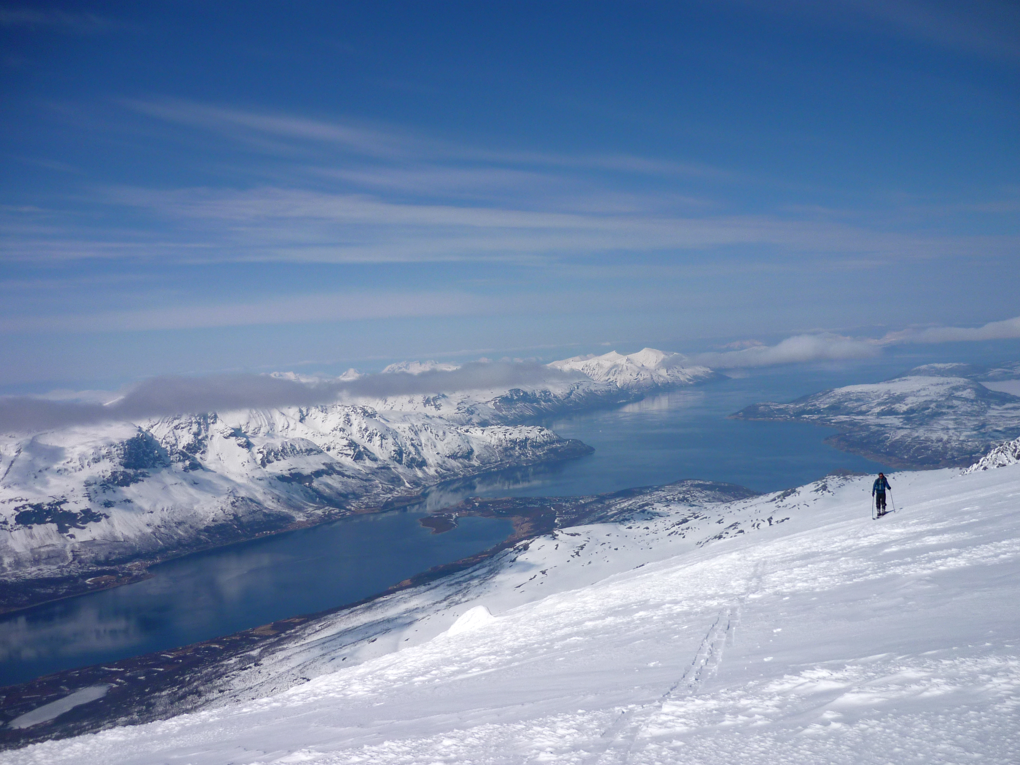 The summit plateau of Fugdldalsfjellet
