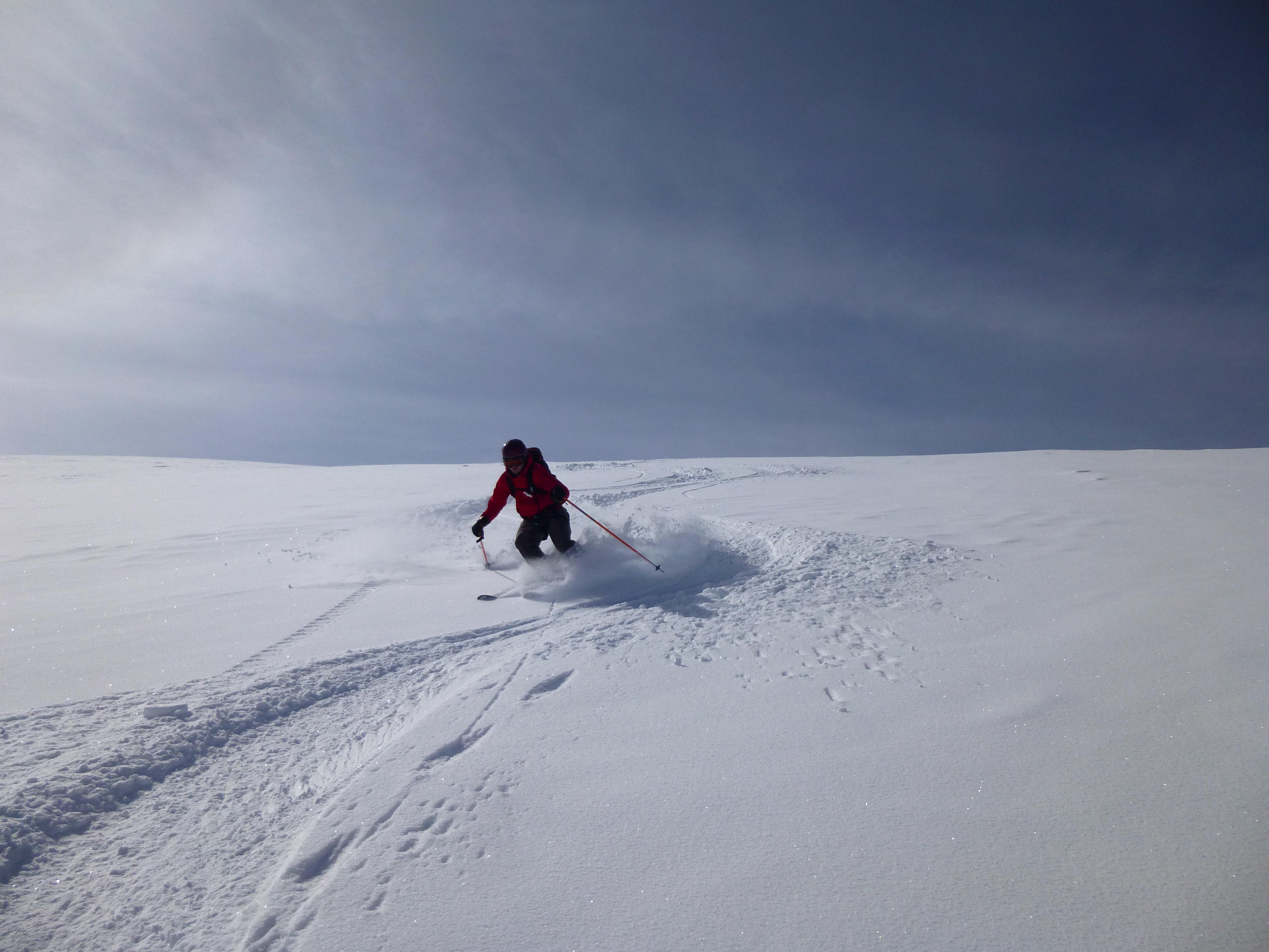 Untracked glacier at 3500m