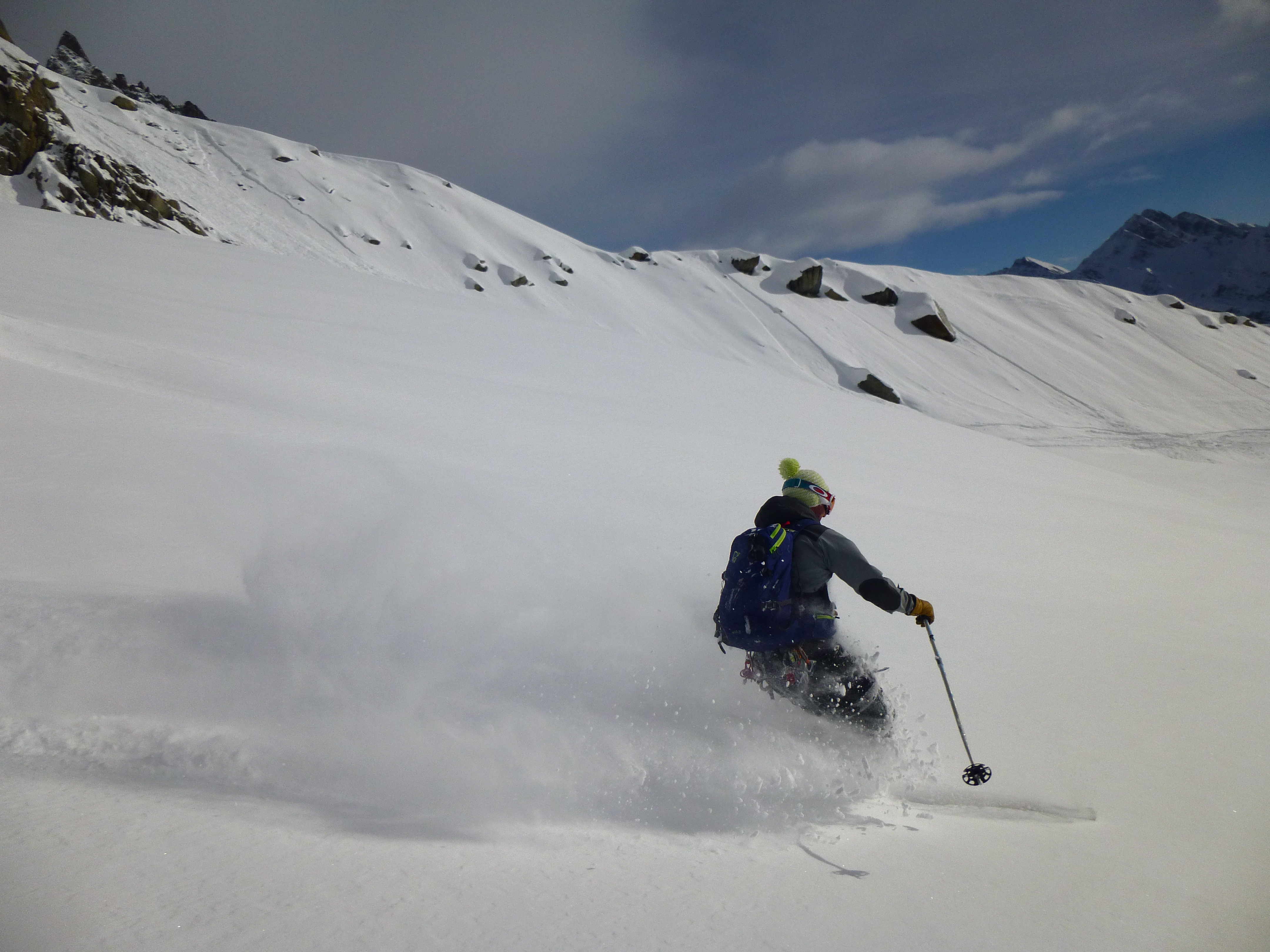 Helbronner, Courmayeur, Italy, Ski touring, freeride, off-piste, backcountry, Alpine Energy Guiding, mountaineering & ski adventures, Andrew Lanham Mountain Guide, Chamonix, Aosta Valley, Swiss, lyngen alps