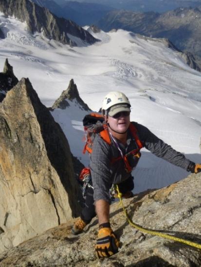 Aiguille du Purtscheller, Mountaineering course, Chamonix ski guide, haute route, chamonix climbing, Chamonix freeride, Chamonix mountain guides, Swiss mountaineering