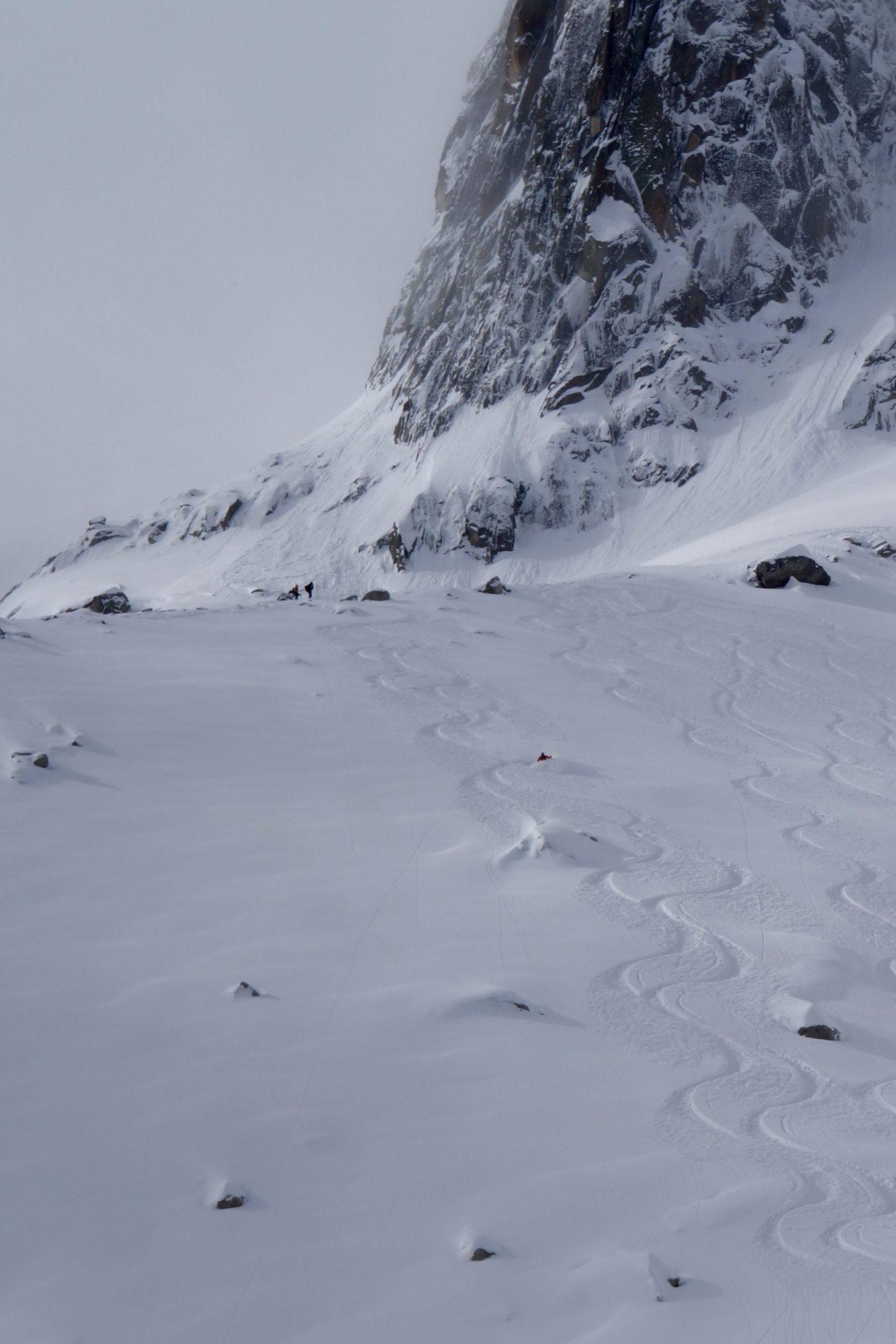 Grand Envers, Vallée Blanche, Ski touring, freeride, off-piste, backcountry, Alpine Energy Guiding, mountaineering & ski adventures, Andrew Lanham Mountain Guide, Chamonix, Aosta Valley, Swiss, lyngen alps