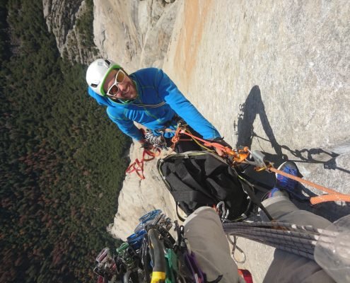 Yosemite, El Capitan, big wall climbing, Mountaineering course, Chamonix ski guide, haute route, chamonix climbing, Chamonix freeride, Chamonix mountain guides, Swiss mountaineering