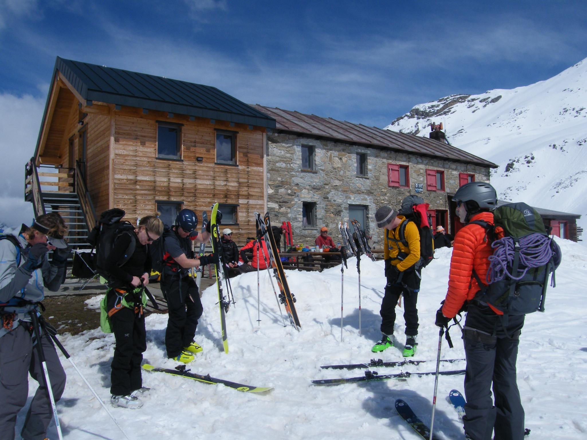 Italy ski touring hut