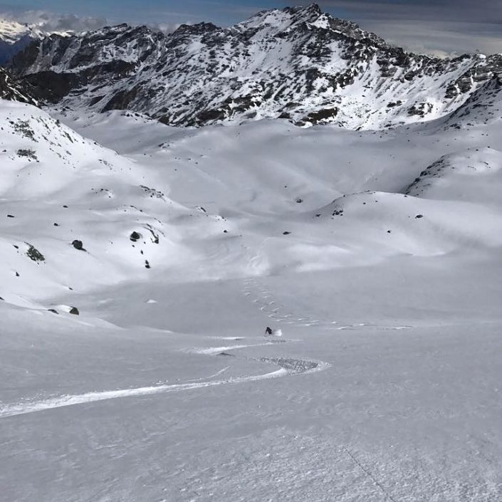 ski touring Verbier