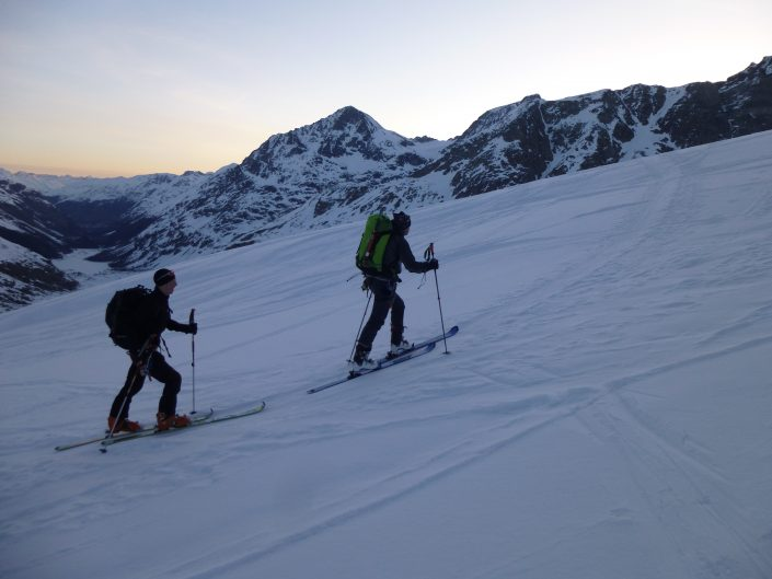 Bernina ski touring
