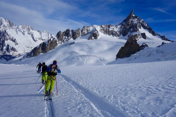 Glacier du Geant, Vallée Blanche, Col d'Entreves, Ski touring, freeride, off-piste, backcountry, Alpine Energy Guiding, mountaineering & ski adventures, Andrew Lanham Mountain Guide, Chamonix, Aosta Valley, Swiss, lyngen alps