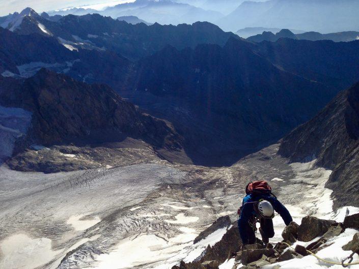 swiss mountaineering Mountaineering course, Chamonix ski guide, haute route, chamonix climbing, Chamonix freeride, Chamonix mountain guides, Swiss mountaineering