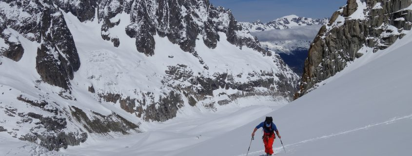 Chamonix, Ski touring, freeride, off-piste, backcountry, Alpine Energy Guiding, mountaineering & ski adventures, Andrew Lanham Mountain Guide, Chamonix, Aosta Valley, Swiss, lyngen alps