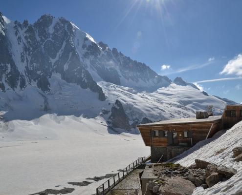 Refuge d'Argentiere, Mountaineering course, Chamonix ski guide, haute route, chamonix climbing, Chamonix freeride, Chamonix mountain guides, Swiss mountaineering