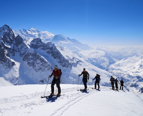 Chamonix ski touring, Mont Blanc, Alpine Energy Guiding, Chamonix Ski Touring, Mountain guide, freeride.