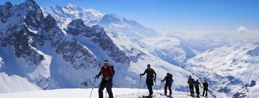 Chamonix ski touring, Mont Blanc, Alpine Energy Guiding, Chamonix Ski Touring, Mountain guide, freeride.