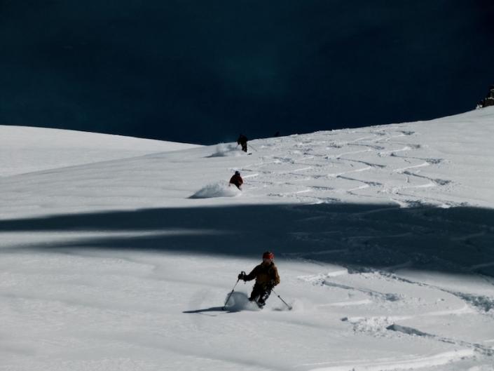 Chamonix off piste, skiing, Ski touring, freeride, off-piste, backcountry, Alpine Energy Guiding, mountaineering & ski adventures, Andrew Lanham Mountain Guide, Chamonix, Aosta Valley, Swiss, lyngen alps