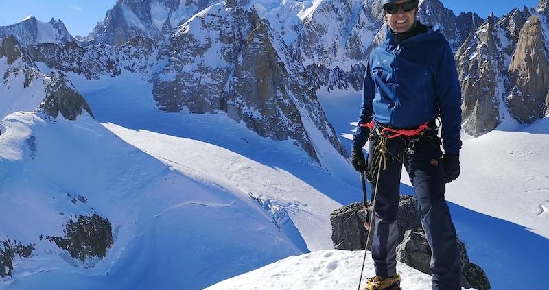 mountain guiding, rock climbing, Mountaineering course, chamonix climbing, Chamonix mountain guides