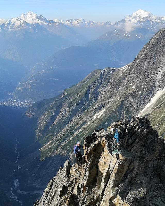 Valais, Switzerland, Mountaineering course, Chamonix ski guide, haute route, chamonix climbing, Chamonix freeride, Chamonix mountain guides, Swiss mountaineering
