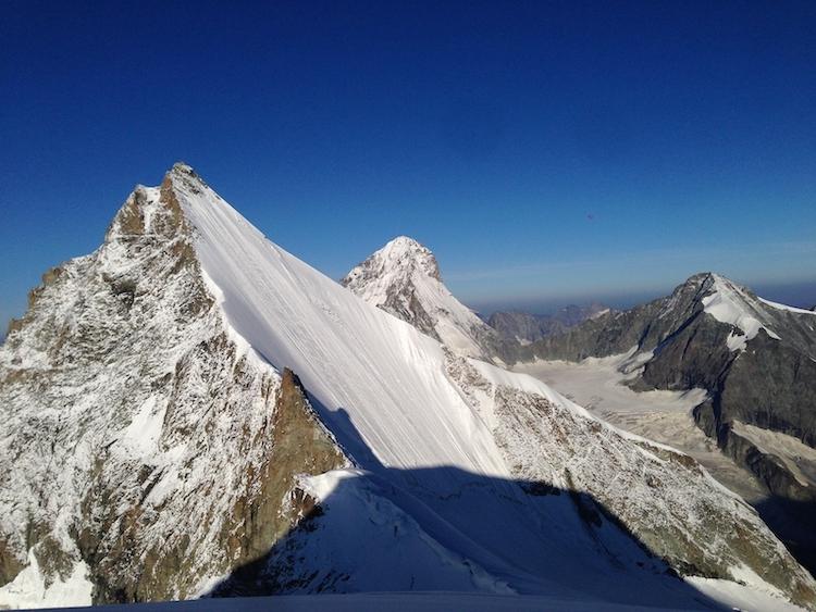 Obergabelhorn, Mountaineering course, Alpine Energy Guiding, mountaineering & ski adventures, Andrew Lanham Mountain Guide, Chamonix, Aosta Valley, Swiss Alps